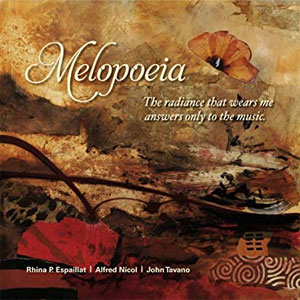 Melopoeia (CD Single) - poems by Rhina P. Espaillat